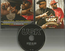 UGK Underground Kingz & JAZZE PHA Stop n go CLEAN & INSTRUMENTAL PROMO CD Single