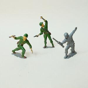 Lot of Vintage Metal Toy Soldiers US Marines USMC