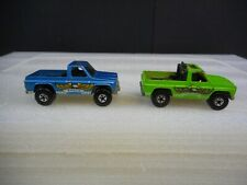 Vintage Pair Hot Wheels Eagle Chevy Trucks