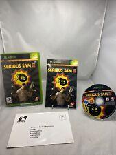 Serious Sam 2 Original Xbox Spiel komplett mit Anleitung kostenlos p&p Spaß Spiel