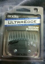 Andis Carbon-infused Steel Ultraedge Medium Blending Dog Clipper Blade FREE SHIP