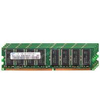 SAMSUNG 4GB 4x1GB PC3200 DDR-400 400MHz 184 pin Non-ECC DIMM Desktop Memory RAM