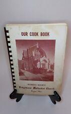 Our Cook Book Ridgewood Methodist Church Parma Ohio 1966 Cookbook