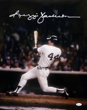 REGGIE JACKSON #1 REPRINT 8X10 AUTOGRAPHED SIGNED PHOTO PICTURE NY YANKEES RP