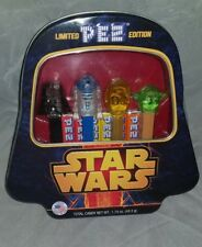Star Wars Limited Pez Edition Gift Set Darth Vader Container Tin