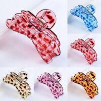 KE_ Butterfly Hair Claw Clip Women Accessory Plastic Clamp  Mgic