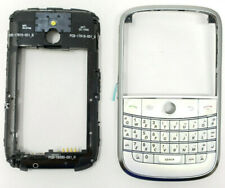 Original White Front Case Keypad Middle Back Fits Blackberry Bold 9000