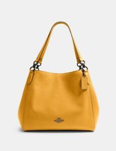 Coach Hallie Shoulder Bag - Qb/Honey