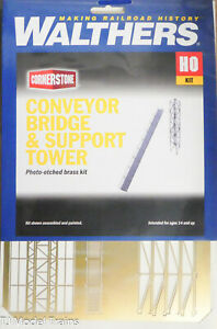 Walthers Cornerstone #933-2940 Conveyor Dridge & Support Tower (Etched Brass Kit