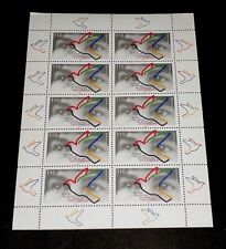 GERMANY, 1998, HUMAN RIGHTS 50th ANNIVERSARY, SHEET/10, MNH, NICE! LQQK!