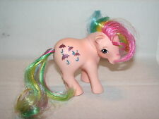 VTG My Little Pony Rainbow Parasol Glitter Umbrellas 1983 B