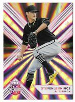 Steven Jennings 2018 Elite Extra Edition Pink Rookie #167 Pirates Parallel Card