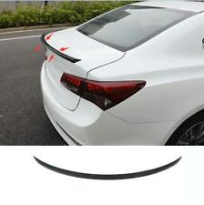 2015- 2019 For Acura TLX ABS carbon fibre Rear Tail Trunk Spoiler Wing Lip Trim