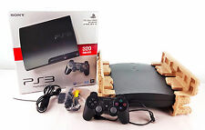 Ps3 Slim Console Nero 320gb + controller originale + OVP/Playstation 3