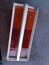HOLDEN LH LX TORANA TAIL LIGHT LENSE 1  SILVER IN COLOUR SS SLR A9X NOS genuine