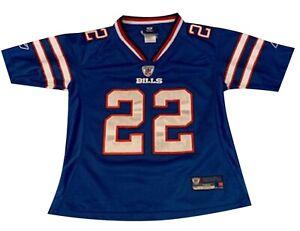 Reebok NFL Jackson Jersey #22  Buffalo Bills Size Men's Small