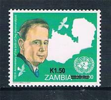 Zambia 2014 Dag Hammarskjold OVPT 1v MNH