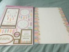 Hunkydory Kit - Catch A Dream - Die Cut Topper Sheet & 1 Backing Card