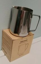 NEW * Milk Frothing Pitcher Stainless Steel 20 oz Coffee Cappuccino Barista