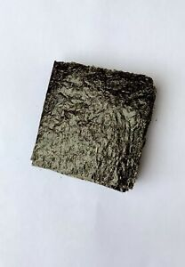 "25 Sheets Grade A Dried Nori seaweed Marine, fish food 4 X 4""BUY 3 GET 1 FREE"
