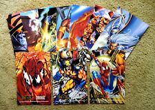 MARVEL METAL PRINTS SET (10) - 1995 Marvel Metal