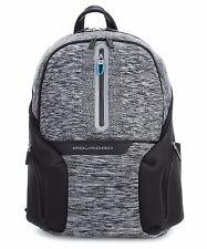 Piquadro Coleos Zaino Casual porta pc con presa USB, 37 cm, grigio CA39360S37 GR