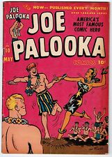 JOE PALOOKA #10 5.0 OFF-WHITE PAGES GOLDEN AGE