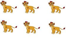 Lion Guard Edible Party Image Cupcake Topper Frosting Icing Sheet Circles