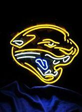 "Jacksonville Jaguars Neon Sign 20""x16"" Beer Light Lamp Bar Glass Display Windows"