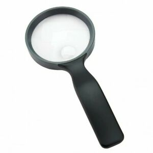 """Carson 3.5"""" Hand Held Compact 2x Magnifier with 4.5x Spot Lens (UK Stock) BNIP"""