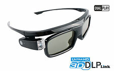 1x DLP 3D Brille Black Jade | Dual Play | Für DLP-Link Beamer BenQ Acer Optoma