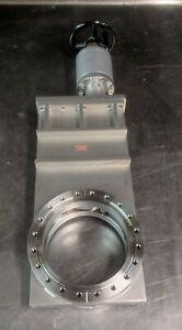 """VAT vacuum UHV gate valve 8"""" conflat all metal bonnet seal - mks hps lesker"""