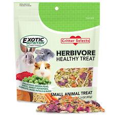 Herbivore Treat - Healthy & Natural - Chinchillas, Rabbits, Guinea Pigs, Degus