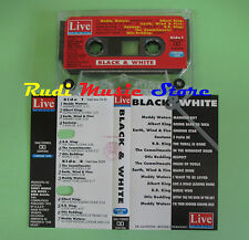 MC BLACK & WHITE compilation 1992 MUDDY WATERS SANTANA REDDING B B KING no cd