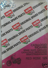 APRILIA catalogo ricambi RED ROSE 125