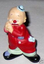 "Resin 2.25"" Clown in Red Coat Figurine"
