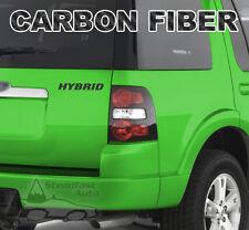 "HYBRID 6"" X 1"" VINYL DECAL STICKER - CARBON FIBER"