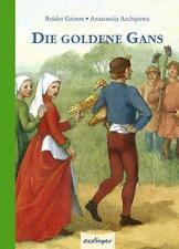 Die goldene Gans - Mini von Jacob Grimm und Wilhelm Grimm (2011, Gebundene Ausgabe)