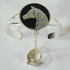 HORSE HEAD SLAVE BRACELET #82 chain new RING NEW SILVER women jewelry set new