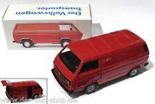 VW Bus t3-Schabak modello 1:43 - SYNCRO TRANSPORTER-ROSSO-NUOVO OVP