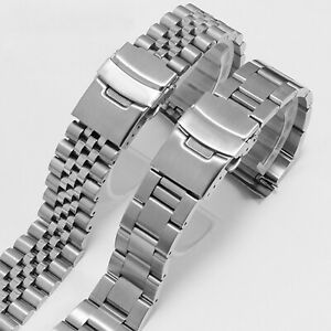 20MM/22MM Stainless Steel Watch Wristband Strap for SEIKO Watch Repair Kit