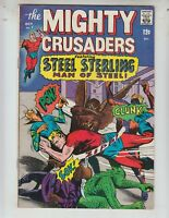 Mighty Crusaders 7 VG+ (4.5) Steel Sterling! Archie Comics!