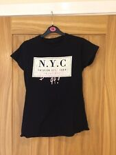 New Look Size 12 Black T Shirt