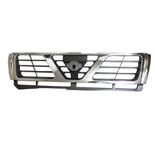 Chrome Mesh Grill Front Bumper Grille Fit For Nissan Patrol Y61 4800 2002-2004