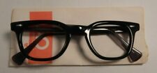 Vintage American Optical HYBRID Stadium Black/Grey 46/24 Eyeglass Frame