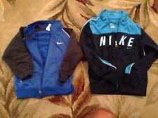 Choice infantry/girl size 18 months 2T ,4T Nike zip front  jog track jacket euc