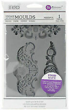 Prima Iron Orchid Designs Vintage Art Decor Mould-needful 815837