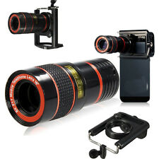 8x Zoom Teleskop Kamera Objektiv Linse Weitwinkel für Handy Smart Cell Phone