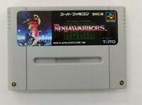 THE NINJA WARRIORS AGAIN   Nintendo Super Famicom Japanese SFC SNES Japan USED