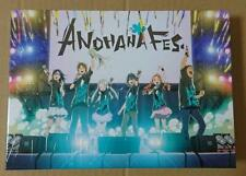 ANOHANA FES. MEMORIAL BOX Complete Limited Edition Blu-ray Booklet Strap